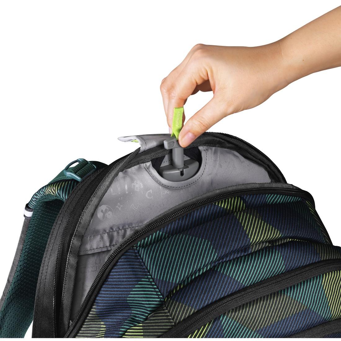 be6a78c01be Dlouho očekávaná novinka - školní batoh coocazoo s posuvnými zády. Díky  geniálnímu mechanismu uvnitř batohu